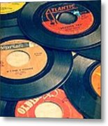 Take Those Old Records Off The Shelf Metal Print by Edward Fielding