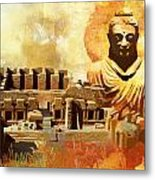 Takhat Bahi Unesco World Heritage Site Metal Print