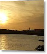Taking Off Into The Sunset Metal Print