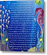 Tale-on-a-poster / The Baby Seahorse Metal Print