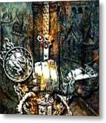 Tales Of Chivalry Metal Print by Tammera Malicki-Wong