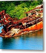 Tales Of Rust Metal Print
