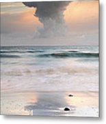 Talisker Bay At Sunset Metal Print