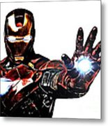 Talk To The Hand Metal Print by The DigArtisT
