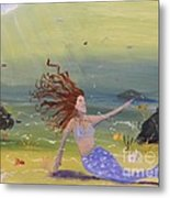 Talking To The Fishes Metal Print