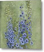 Tall Blues Metal Print