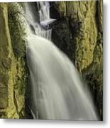 Tall Canyon Waterfalls Metal Print