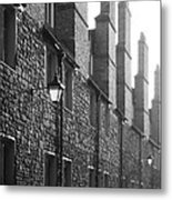 Tall Chimneys In The Misty Sunlight Metal Print