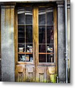 Tall Doors Metal Print