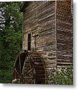 Tall Mill Metal Print