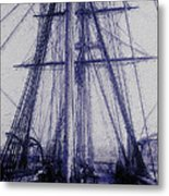 Tall Ship 2 Metal Print