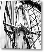 Tall Ship Architecture Metal Print