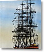 Tall Ship Beauty Metal Print
