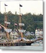 Tall Ship Metal Print by Brett Geyer
