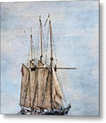 Tall Ship Denis Sullivan Metal Print