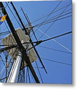 Tall Ship II Metal Print