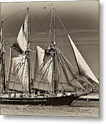 Tall Ship II Metal Print