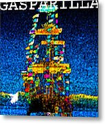 Tall Ship Jose Gasparilla Metal Print