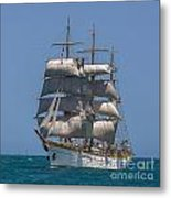 Tall Ship Mircea Metal Print