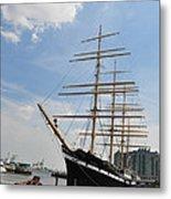 Tall Ship Mushulu At Penns Landing Metal Print