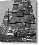 Tall Ship Stad Amsterdam Metal Print