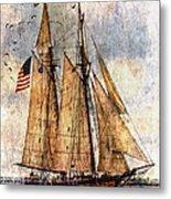 Tall Ships Art Metal Print