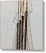 Tall Tall Ship Metal Print