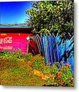 Tallulah Point Overlook Coke Sign Metal Print