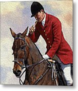 Tally Ho Detail Metal Print