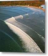 Tamarin Bay Surf Going Off Metal Print