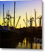 Tamed Metal Print