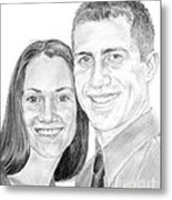 Tamir And Sarah Metal Print