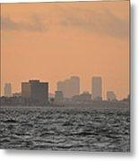 Tampa At Sunrise Metal Print