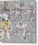 Tampa Bay Buccaneers Legends Metal Print
