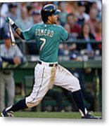 Tampa Bay Rays V Seattle Mariners Metal Print