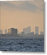 Tampa From The West Shore Metal Print