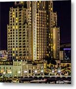 Tampa Marriott Waterside Hotel And Marina Metal Print