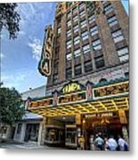 Tampa Theater 2 Metal Print by Al Hurley