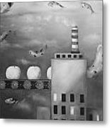 Tangerine Dream Edit 4 Metal Print