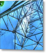 Tangled Web Metal Print by MJ Olsen