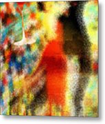 Tango As The Sunset Metal Print by Kenal Louis