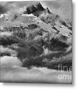 Tantalus Mountain Storms Metal Print