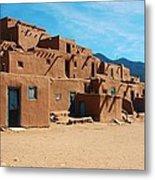Taos Pueblo 4 Metal Print