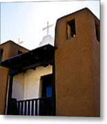 Taos Pueblo Church 2 Metal Print