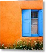 Taos Window IIi Metal Print