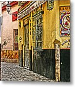 Tapas Bar In Sevilla Spain Metal Print