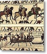 Tapestry Of Bayeux. The Complete Metal Print