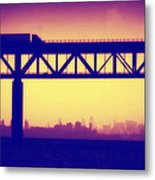 Tappan Zee Bridge Iv Metal Print