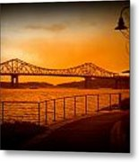 Tappan Zee Bridge Viii Metal Print