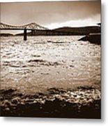 Tappan Zee Bridge X Metal Print
